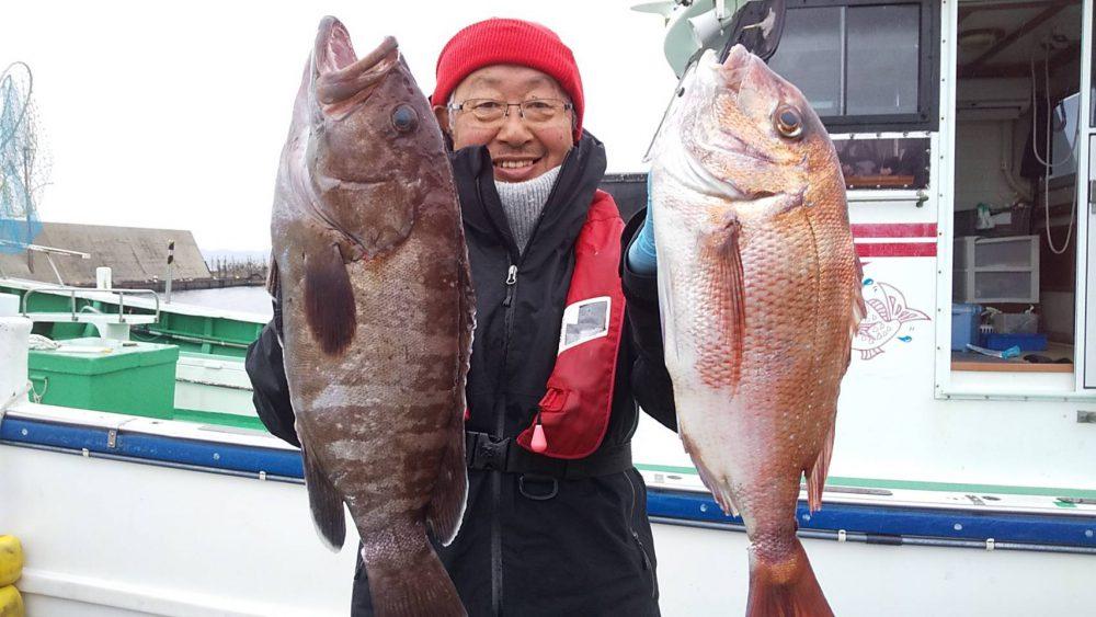 1月12日の釣果