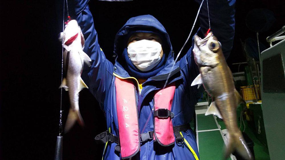 1月17日の釣果